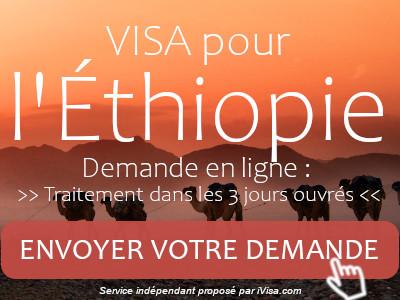 demande visa éthiopie