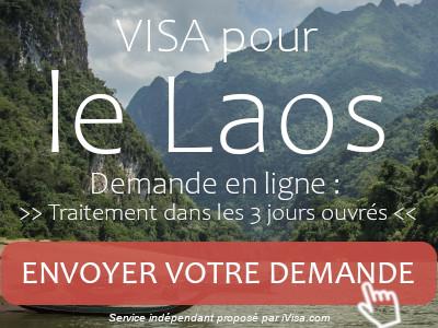demande visa laos