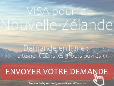 demande visa nouvelle-zélande
