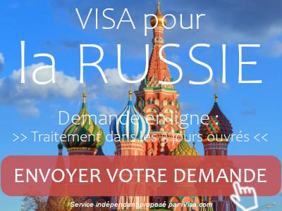 demande visa russie