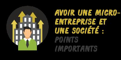 micro-société entreprise important