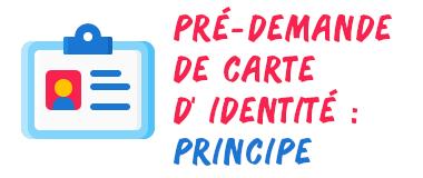 Pré-demande carte identité