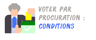 vote procuration conditions