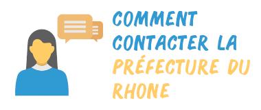 comment contacter préfecture rhône