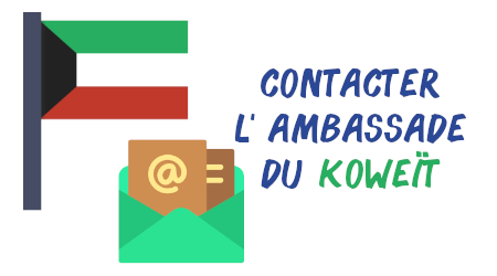contact ambassade koweït