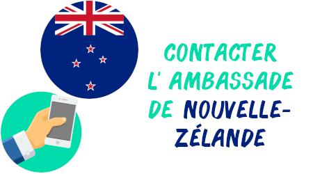 contacter ambassade nouvelle-zélande