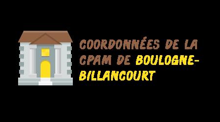 coordonnées cpam boulogne-billancourt