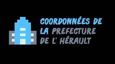 coordonnées préfecture hérault