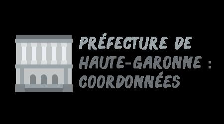 coordonnées préfecture haute-garonne