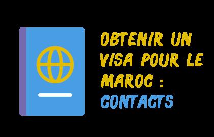 contacts visas maroc