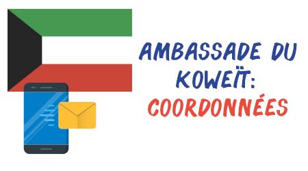 coordonnées ambassade koweït