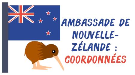 coordonnées ambassade nouvelle-zélande