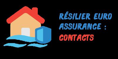 contacts résilier euro assurance