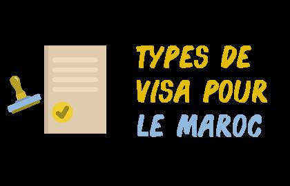 types visas maroc