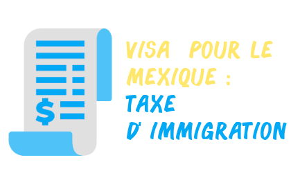 visa mexique taxe immigration