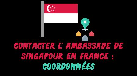 coordonnées ambassade singapour