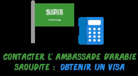 ambassade Arabie Saoudite visa