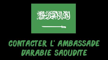 contact ambassade Arabie Saoudite
