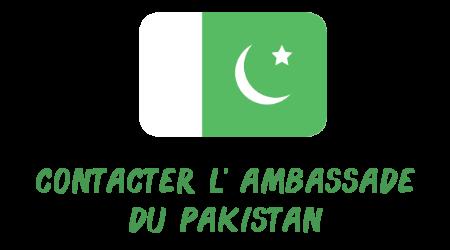 contacter ambassade Pakistan
