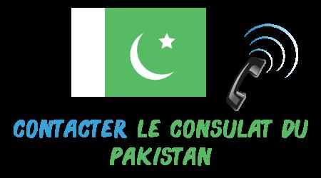 contacter consulat pakistan