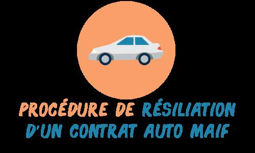 résiliation assurance auto maif