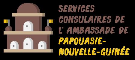 services consulaires ambassade Papouasie-Nouvelle-Guinée