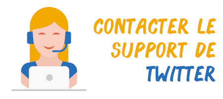 contacter support twitter