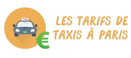 tarifs taxis Paris